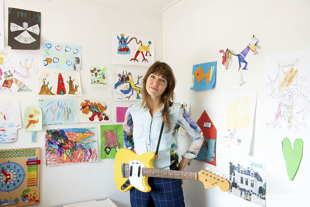 Marike Jager thuis in Beuningen