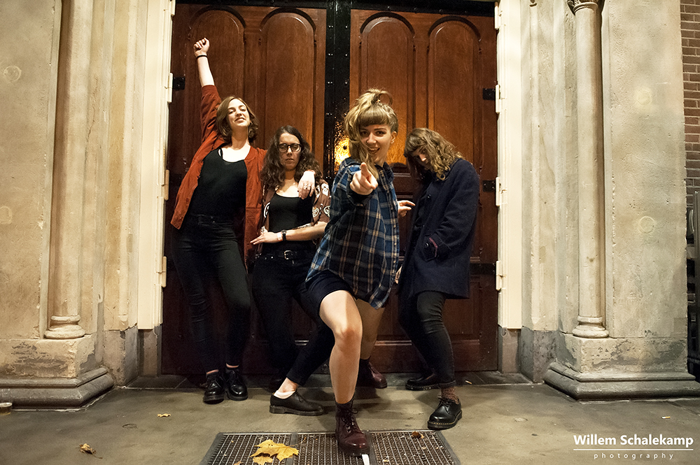 Juliette Jackson, Soph Nathan, Celia Archer and Fern Ford (The Big Moon)