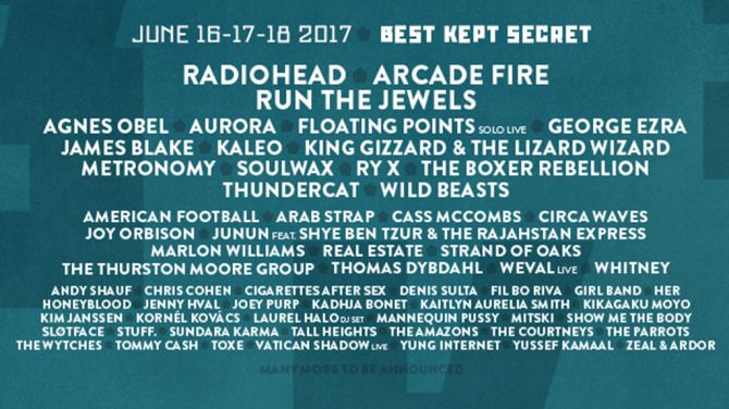 Best Kept Secret Festival 2017